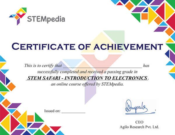 Introduction to Electronics Certificate