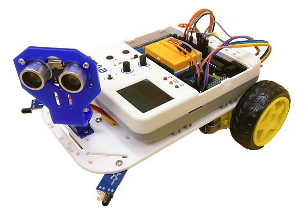 Obstacle Avoiding evive robot