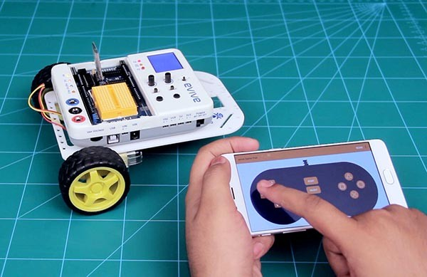 Smartphone Controlled Robot